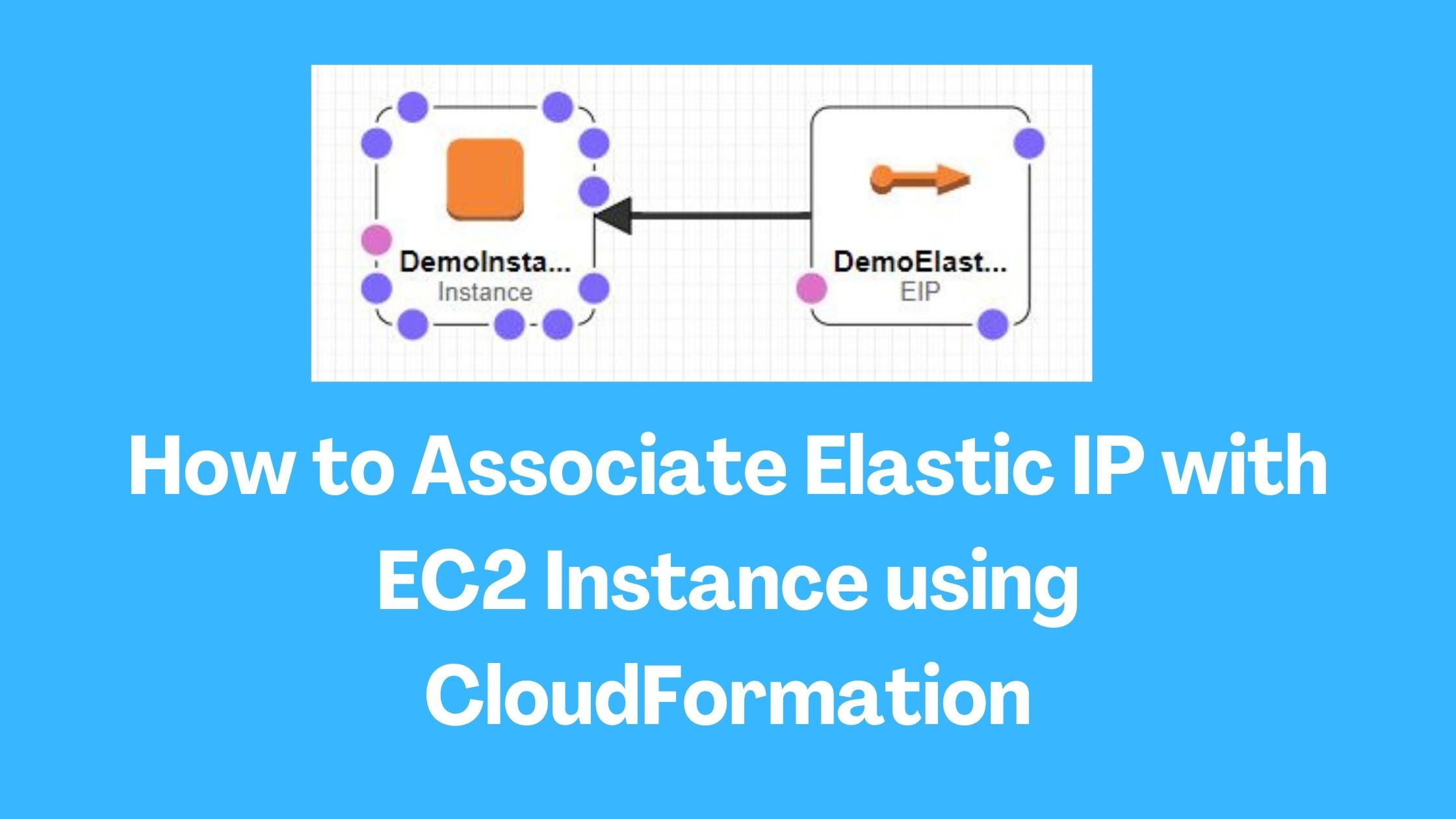 How to Associate Elastic IP with EC2 Instance using CloudFormation